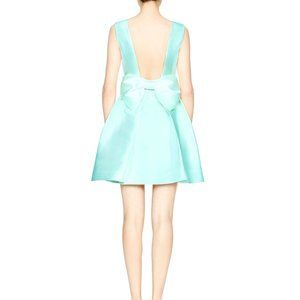 Kate Spade Bow-Embellished Open Back Mini Dress
